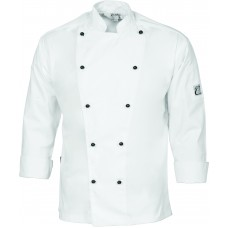 DNC Cool-Breeze Cotton Chef Jacket - Long Sleeve