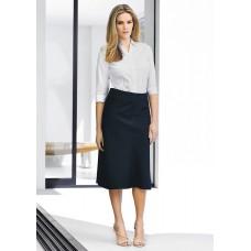 BIZ Ladies 3/4 length Fluted Skirt
