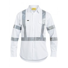 3M Taped White Drill Shirt