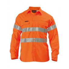 Hi Vis Shirt - Indura Ultra Soft Flame Resistant With Tape
