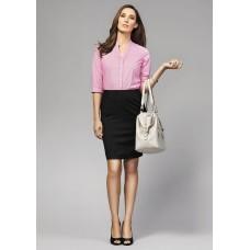 BIZ Bordeaux Ladies 3/4 Sleeve Shirt