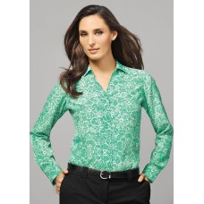 BIZ Solanda Ladies Print Long Sleeve Shirt