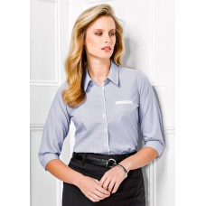 BIZ Calais Ladies 3/4 Sleeve Shirt