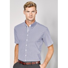 BIZ Fifth Avenue Mens Short Sleeve Shirt