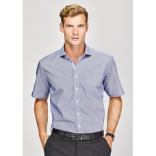 BIZ Calais Mens Short Sleeve Shirt