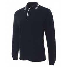 JB L/S Contrast Polo