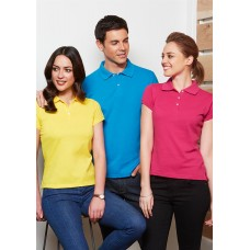BIZ Neon Polo Mens