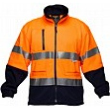 PRIME MOVER Water Repellent Fleecy Jumper with tape